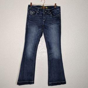 Maurices wide leg jeans size 14 regular (q)